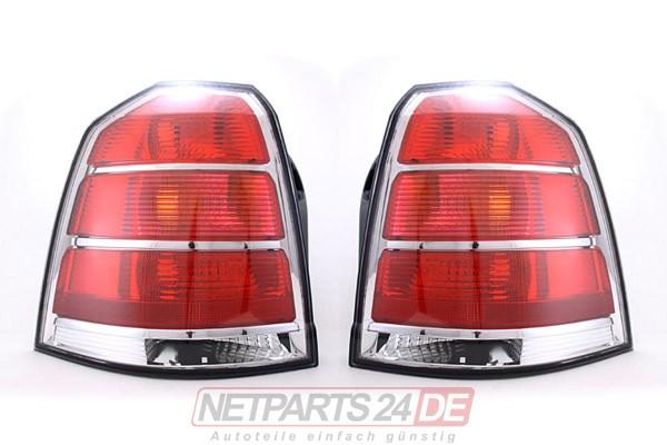 Opel Zafira B Heckleuchte Rücklicht Satz ab 2005 links & rechts