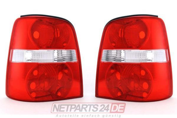 VW Touran (1T) Heckleuchte Rücklicht Satz außen links & außen rechts 2003-2006
