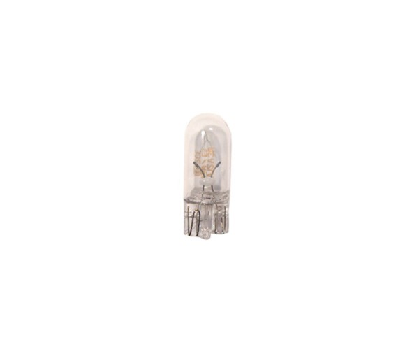 10X Glühlampe 12V 5W Sockel W2,1x9,5d (Glassockel)