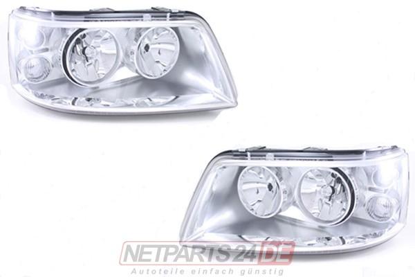 Scheinwerfer Satz H7/H1 links & rechts VW Multivan T5 ab 04/03-