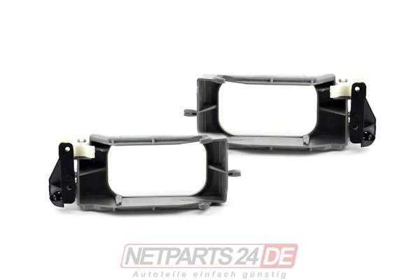 Rahmen für Nebelscheinwerfer links und rechts BMW 3 E36 ab 12/90-09/00