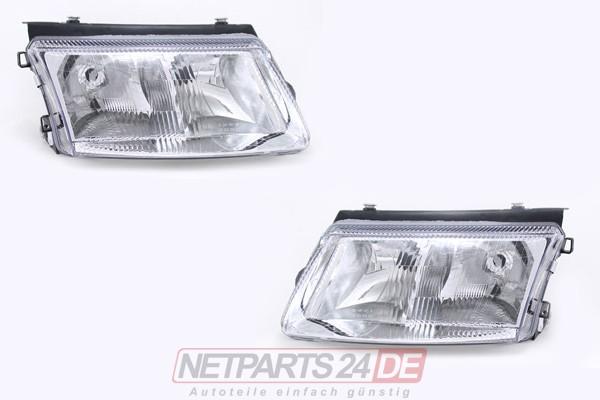 Scheinwerfer Satz FF-H7/H4 links & rechts VW Passat (3B) 96-00