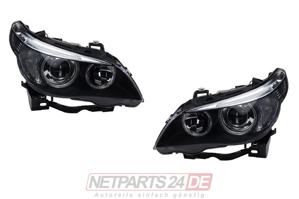 Scheinwerfer Satz XENON/H7 links & rechts, BMW 5 E60/E61 01/05-03/07