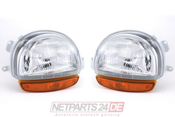 Scheinwerfer Satz H4 links und rechts Renault Twingo 03/1993-08/1998